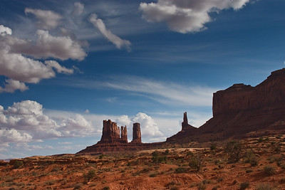 Monument Valley  Navajo Tribal Park USA