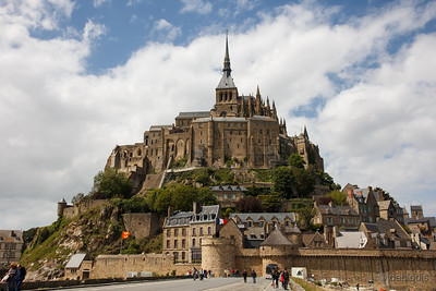 Mont St. Michel, Normandië